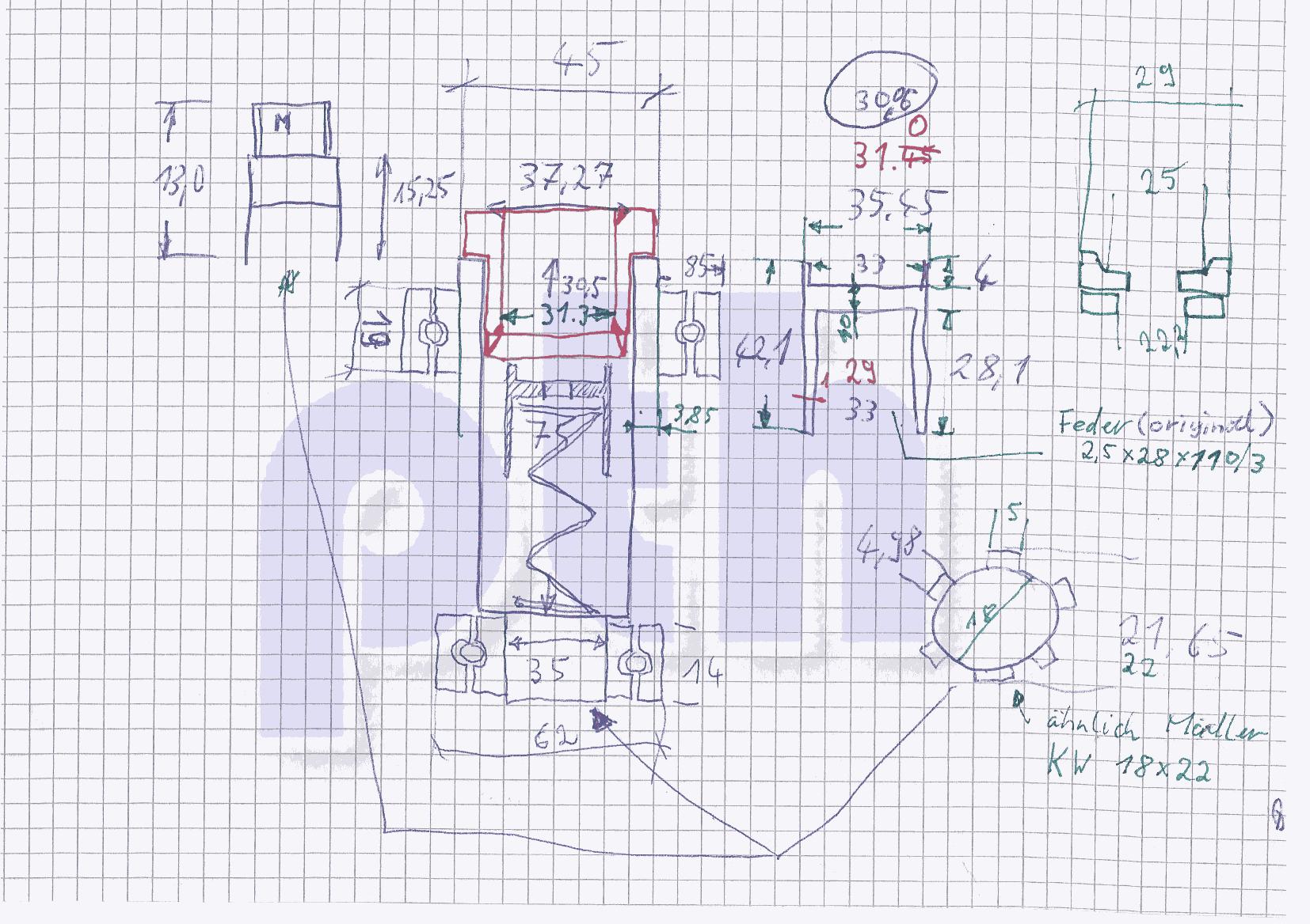 BF20 Drehstrom Spindelbau - PTHobby